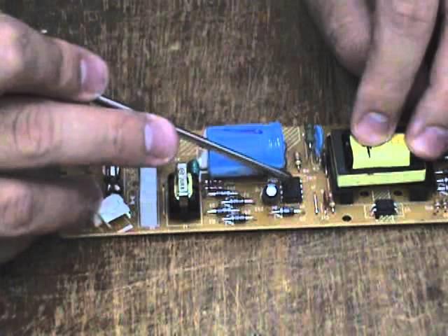 Curso de manutenção em fonte de DVD player