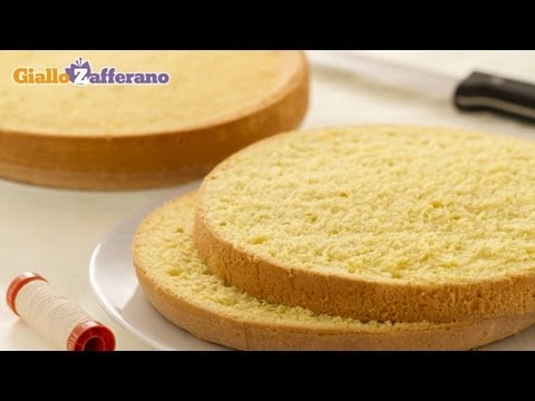 How to cut a cake into layers - cooking tutorial