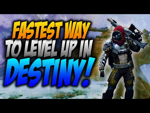 Destiny: How To Level Up FAST!! (Destiny Multiplayer Gameplay)