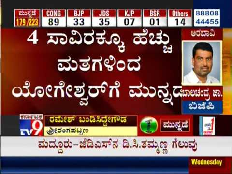 TV9 Live: Counting of Votes : Karnataka Assembly Elections 2013 'Results' - Part 11