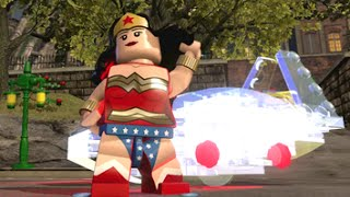 LEGO Dimensions - Wonder Woman Open World Free Roam (Character Showcase)