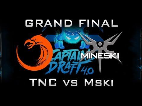 TNC vs Mineski Grand Final Captains Draft 2017 SEA Highlights Dota 2