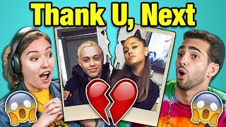 Adults React To Ariana Grande Pete Davidson Breakup Thank U Next