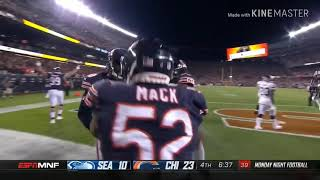 Chicago Bears 2018 Defensive Highlights (Week 1 to 6)