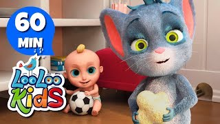 Hickory Dickory Dock - THE BEST Songs for Children | LooLoo Kids