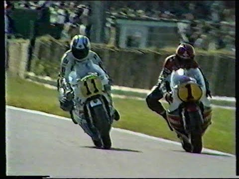 Jack Middelburg was the last privateer rider to win a 500cc GP,He rode a great race. P.S Randy Mamola slowed because of a broken Disc Valve.