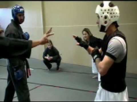 Kung Fu Vs Karate Adult Point Sparring Tournament Image 1