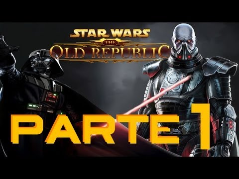 Let's Play español: Star Wars The Old Republic - Primeros pasos con Guerrero Sith - Parte 1