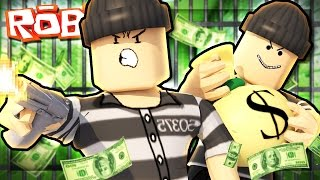 BECOMING CRIMINALS IN ROBLOX!