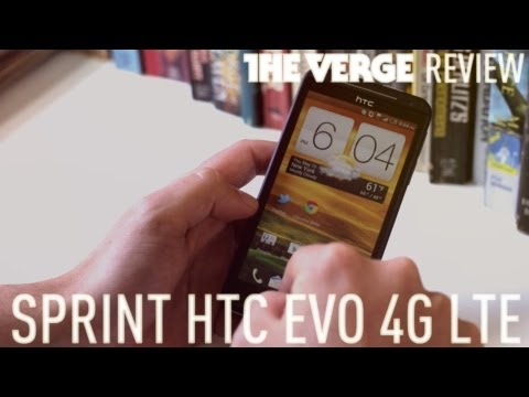 Video: Sprint HTC Evo 4G LTE review