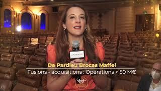 Palmarès du Droit 2021 - De Pardieu Brocas Maffei - Fusions - acquisitions Opérations sup.  à 50 M€