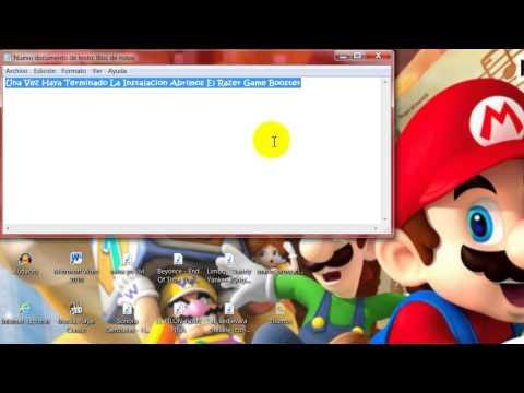 Como Descargar y ejecutar juegos con Game Booster.