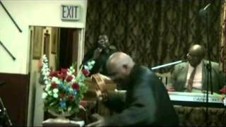 "Prophetess Velda Horton Sings ""Trouble In My Way I Have To Cry Sometimes"".wmv"