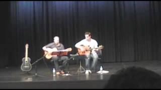 Russian Guitar Duet Yablochko Little Apple Яблочко Sailors Dance