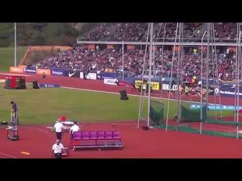 David Rudisha wins 600m at diamond league Birmingham