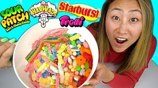 I MELTED EVERY POPULAR CANDY TOGETHER!!