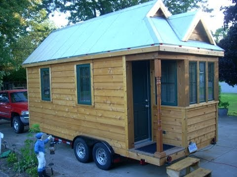 This Tiny House is Freakin  Sweet!  (NEW and UPDATED)