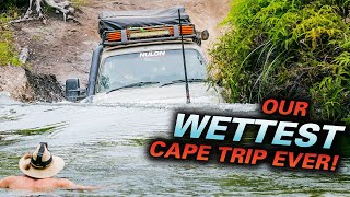 CAPE YORK MADNESS - Which 4WD FLOATED?  ROOF-DEEP RIVER CROSSING -  Insane Gunshot attempts!