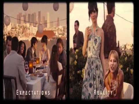 Expectations vs Reality from 500 Days Of Summer