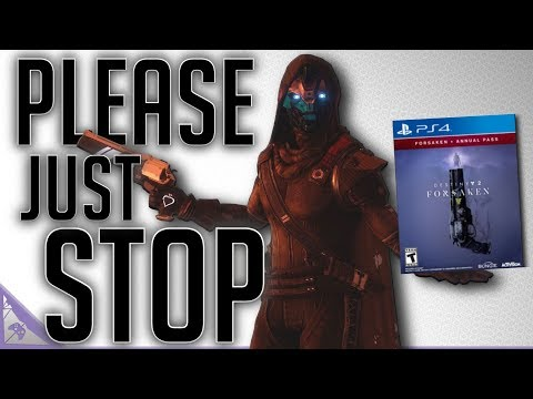 Stop Hyping Destiny 2 Forsaken (Warmind Was Cut Content & Bungie Might Sell Destiny) thumbnail