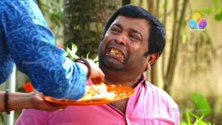 Uppum Mulakum│ഏണിയിൽ നിന്നും വീണ് ബാലുവിന്റെ ഓർമ്മ പോയി | Flowers│EP# 258