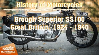 Brough Superior SS100 (Great Britain) - Trial by Motorworld by V.Sheyanov (Russia)