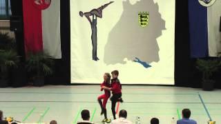 Eileen Rolshausen & Daniel Kozachyshen - LM Baden-Württemberg & Hessen 2015