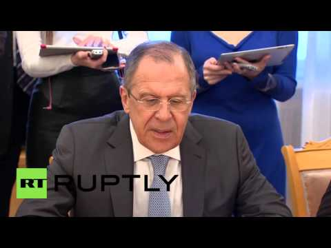 Russia: Lavrov meets former Afghan pres. Karzai in Moscow