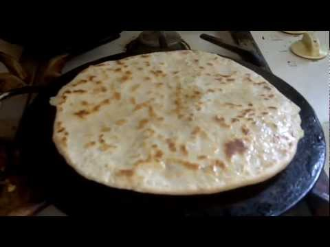 How to make roti chapati poli layered roti 3gp mp4 for Awesome cuisine authors mallika badrinath