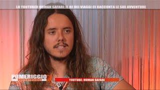 Nicolò Balini (HumanSafari) intervista in TV