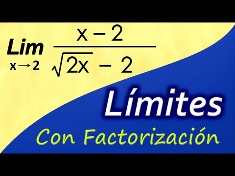 Limite con Factorizacion y Binomio Conjugado