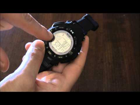 Casio Pro Trek PRW-2500 Watch Review