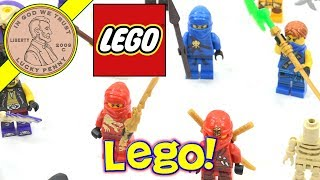 200 Lego Minifigure Collection - 4 POUNDS Of Legos for 4 Bucks! Minifigs Estate Sale Find
