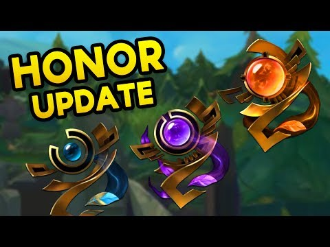 NOT TOXIC = FREE STUFF? How the Honor Update Works! (League of Legends)