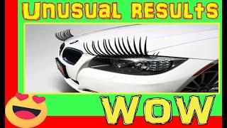 Eyelashes Headlight Decoration  | Cool Car Gadgets