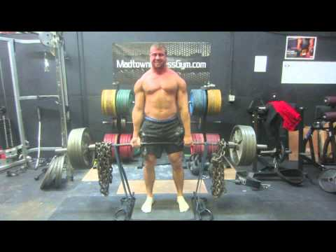 800 Pound Double - Week 1 Raw Unity Deadlift Training Image 1