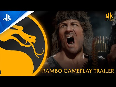 Mortal Kombat 11 Ultimate - Official Rambo Gameplay Trailer | PS4, PS5
