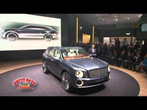 Bentley Unveils SUV at 2012 Geneva Motor Show