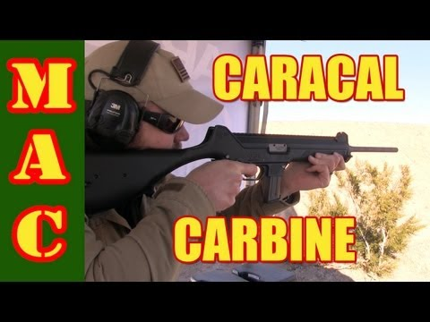 Caracal Carbine - SHOT Show 2013