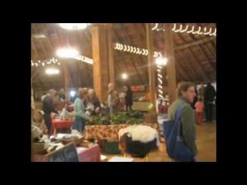 Mad River Valley Farmer's Market at the Round Barn Farm Waitsfield, VT November 21, 2010