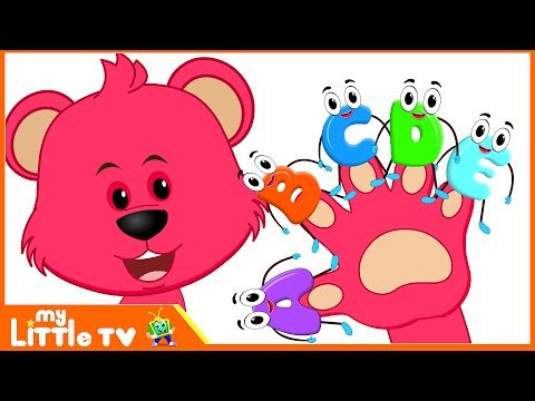 ABC Finger Family with Baby Bear  | Nursery Rhymes | Kids Songs | Videos for Children