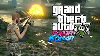 GTA 5 online - Best of funny moments #21 (Guerre des Baguettes 2)