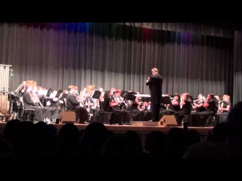Mooresville High School Symphonic Band - Visions of Flight