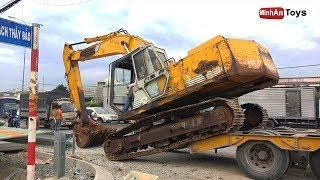 Excavator and Dump Truck for Kids | Dance Songs for Kids