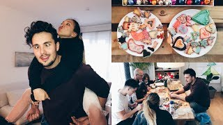 Vlogmas #10: Sundays with Luis Family 🍪 -Adorable Caro