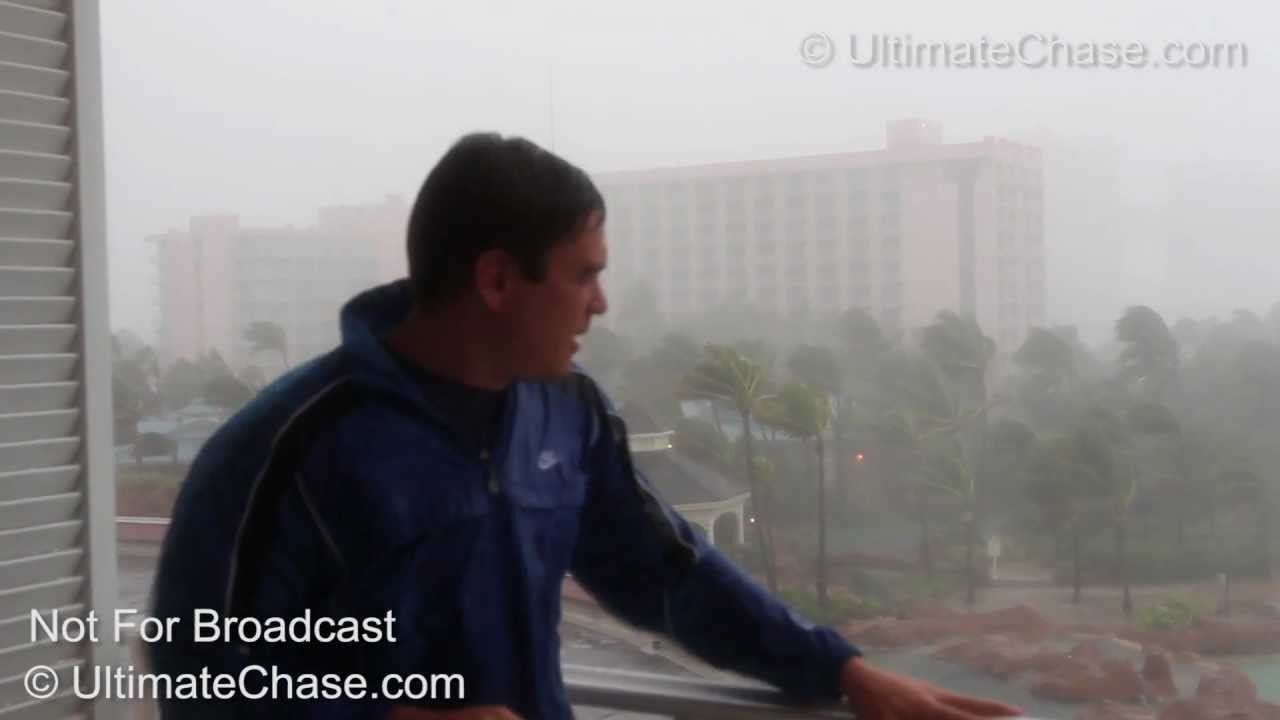 Hurricane Winds Video Insane Hurricane Irene Wind