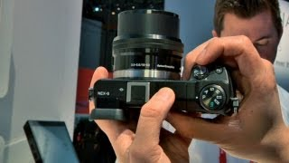 CES 2013_ Hands-On with Sony's NEX-5R and NEX-6 Cameras