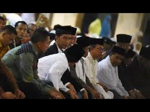 Berita 17 Juli 2015 - VIDEO Jokowi Akhiri Lebaran di Aceh dengan Shalat Jumat