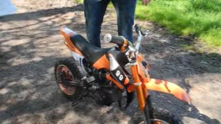Cross Pocket Bike fahren
