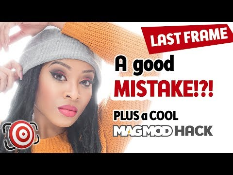 Your Best Shot is a Mistake?  Fashion Portrait with a COOL MagMod Hack